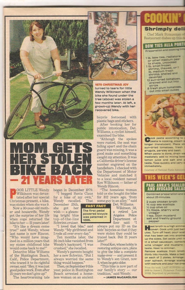NationalEnquirerArticleofRecoveredBike