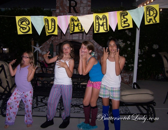 Baby Girl and her Posse on July 3rd
