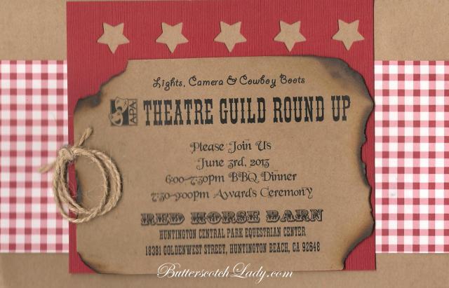 2013 Banquet Invite